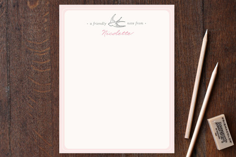 Mon Ami Personalized Stationery