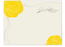 Golden Afternoon Personalized Stationery
