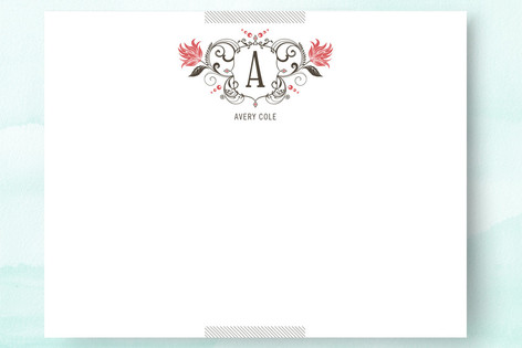 Coat of Arms Personalized Stationery