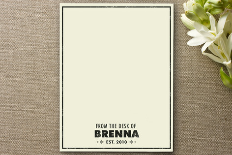 Antique Personalized Stationery