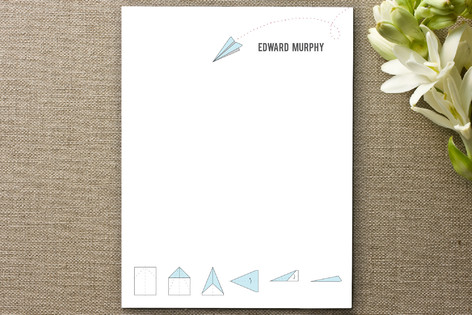 Airmail Personalized Stationery