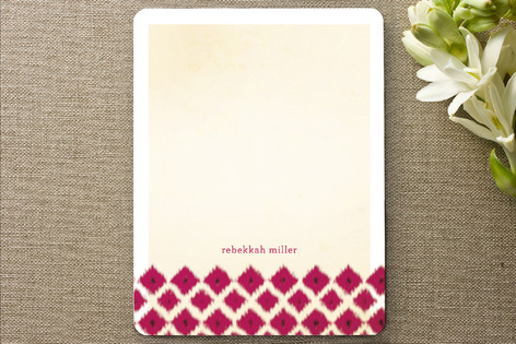 Ikat Personalized Stationery