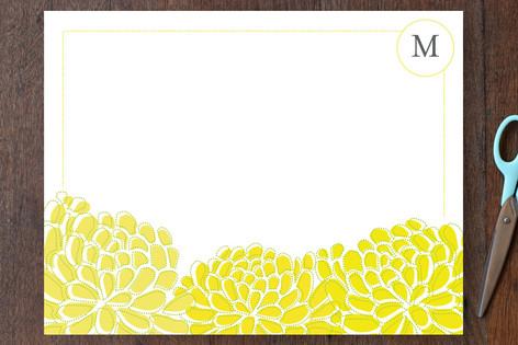 sunny botanical Personalized Stationery