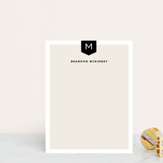 Subtle Banner Personalized Stationery