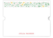 Happy Garden Personalized Stationery