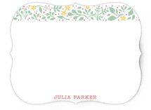 Happy Garden Personalized Stationery