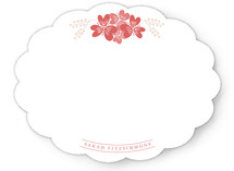 Your Flower Personalized Stationery