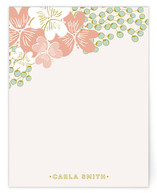 French Deco Bouquet Personalized Stationery