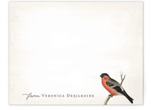 Vintage Bird Personalized Stationery