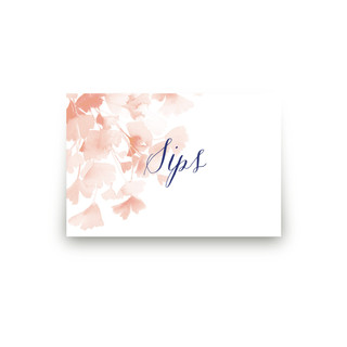 Ginkgo Personalizable Table Signs 2