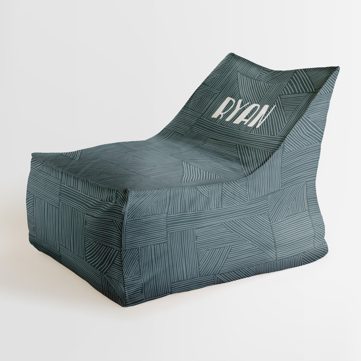 Sketchbook Geometric Personalizable Triangle Chairs