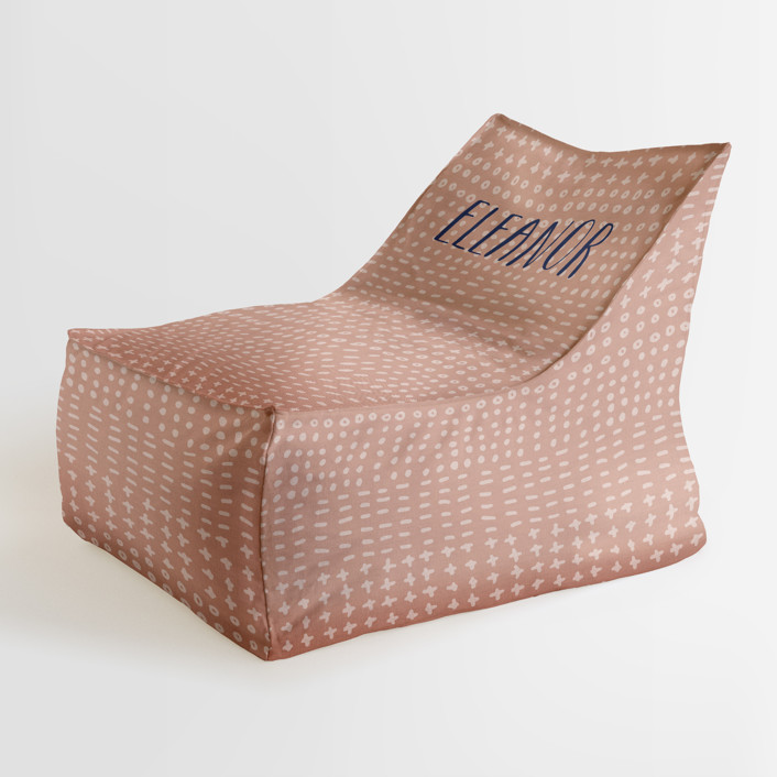 Dot Dash Personalizable Triangle Chairs