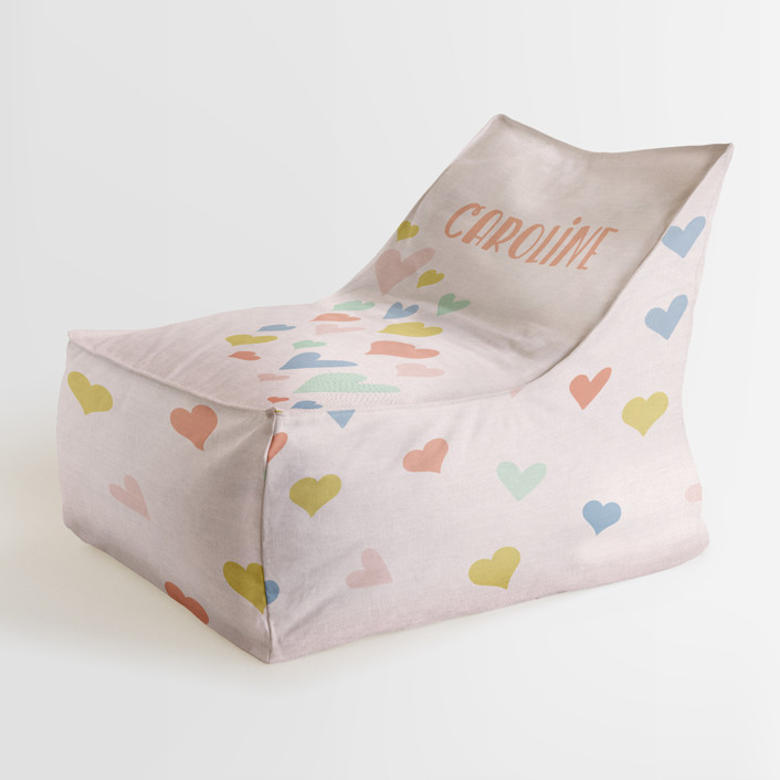 wave of love Personalizable Triangle Chairs