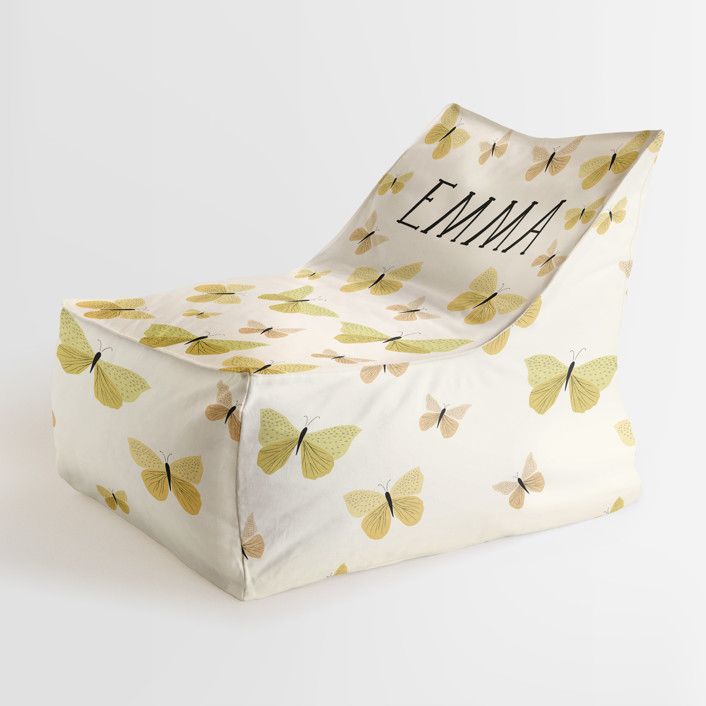 Garden Butterflies Personalizable Triangle Chairs