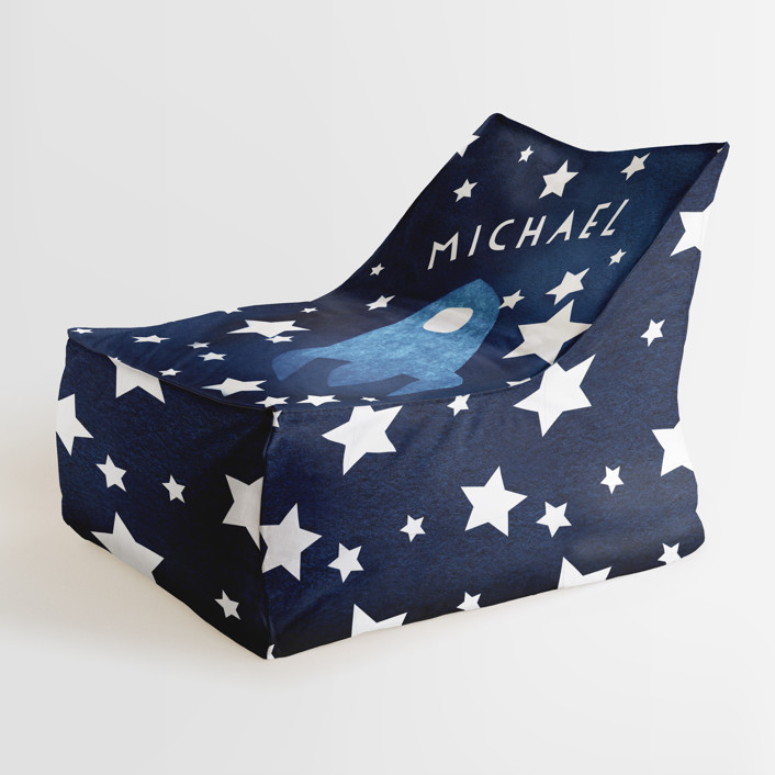 To the stars and beyond Personalizable Triangle Chairs