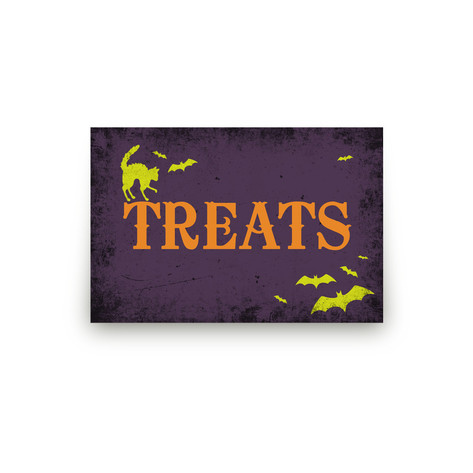 Spirited Halloween Personalizable Table Signs 1