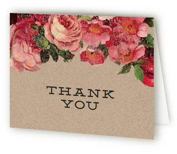 The Porch Bridal Shower Thank You Cards