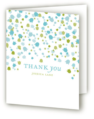 Floral Showers Bridal Shower Thank You Cards