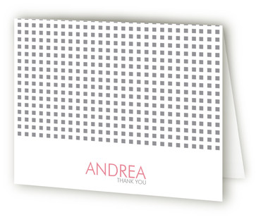 Swanky Hotel Bridal Shower Thank You Cards