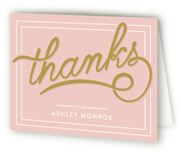 Bubbly Brunch Bridal Shower Thank You Cards