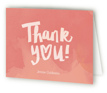Shower with Love Bridal Shower Thank You Cards