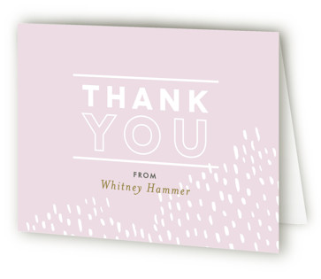 Sprinkled Bridal Shower Thank You Cards