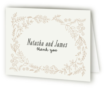 Madeleinne Bridal Shower Thank You Cards