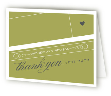 Shoe Fetish Bridal Shower Thank You Cards