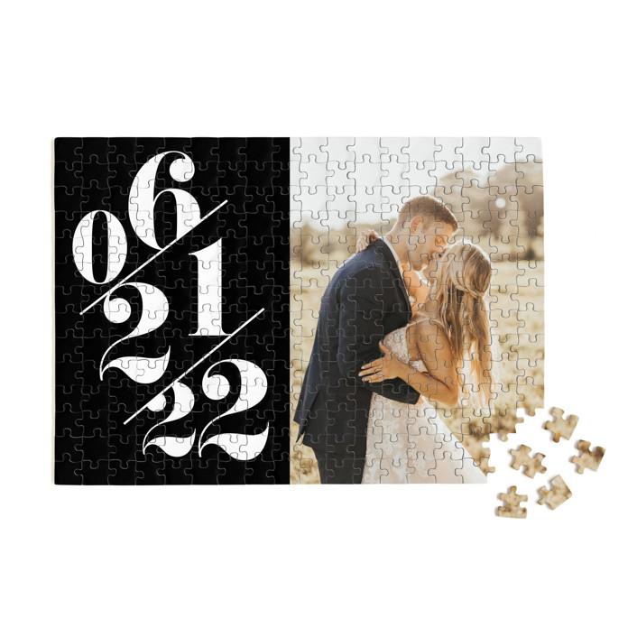 Delightful Date 252 Piece Custom Puzzle