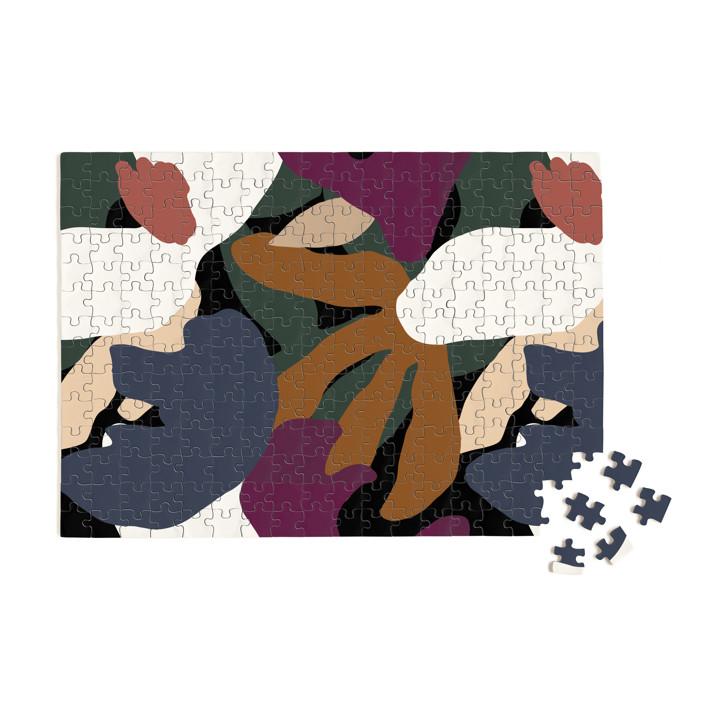 When Frankie Met Flora 252 Piece Art Puzzle