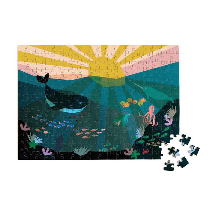 Underwater Sunset 252 Piece Art Puzzle