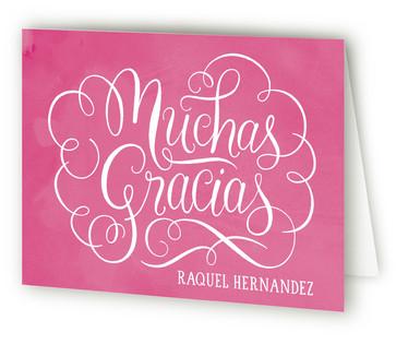 Papel Picado Quinceaera Quinceaera Thank You Cards