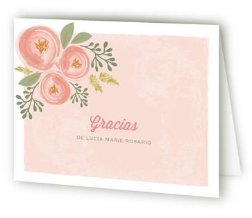 Bonita Blooms Quinceaera Thank You Cards