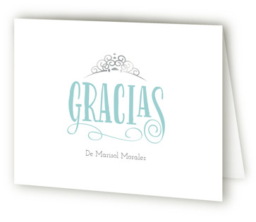 Mis Quince Quinceaera Thank You Cards