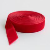 """Cherry Red 1"""" Velvet"""