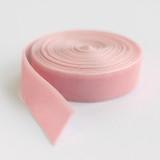"""Pink 1"""" Velvet"""
