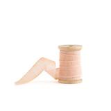 Blush Loose Weave Cotton