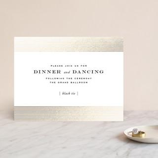 Majestic Foil-Pressed Reception Cards