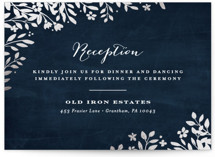 Sun Prints Foil-Pressed Reception Cards