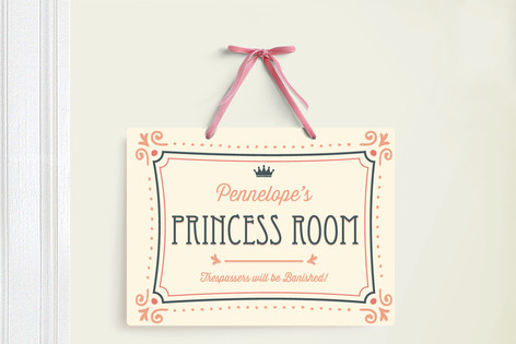 Princess Suite Room Decor Signs