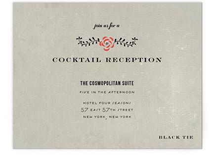 Vintage Romance Reception Cards