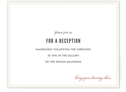 Kensington Reception Cards