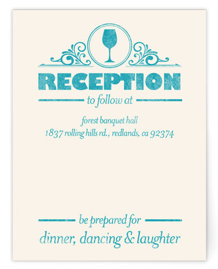 Classically Modern Reception Cards