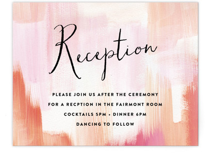 Gallery Love Reception Cards