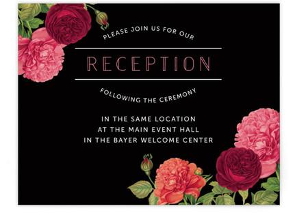 Romantic Botanic Reception Cards