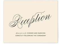 Sabrina Reception Cards