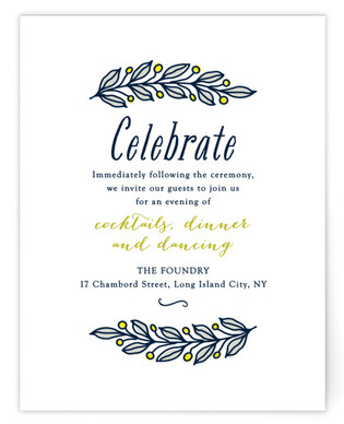 The Whimsical Victorian Reception Cards