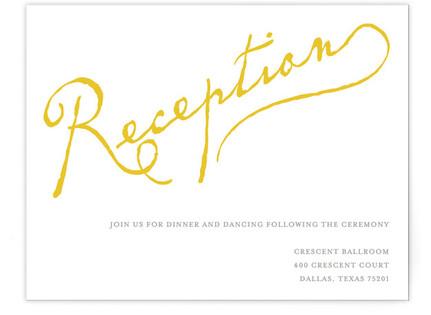 Dearest Reception Cards