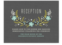 Botanical Blooms Reception Cards