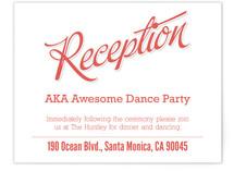 Love Script Reception Cards